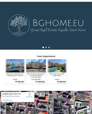 user site bghome
