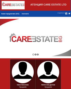 user site care.estate.bg