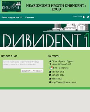 user site divident1