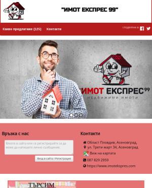 user site imotekspres